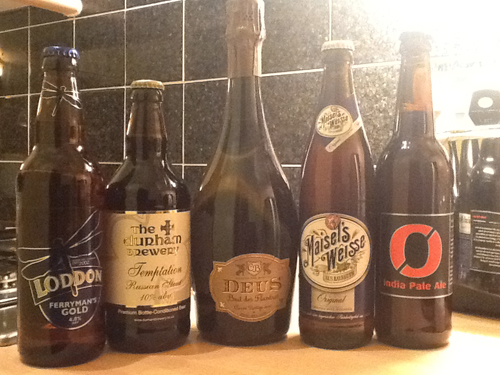 This Morning Beer Selection - May 2012