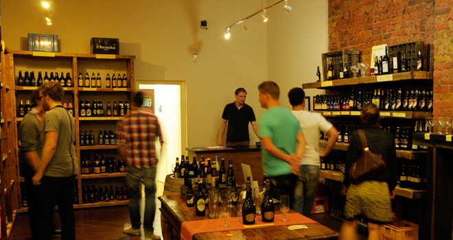 The Beer Boutique store