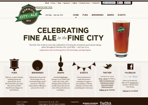 city-of-ale-website