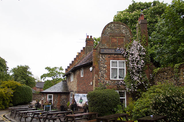Adam & Eve - the oldest pub in Norwich