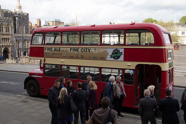 City of Ale 2013 beer bus!