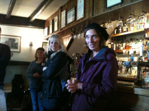 Our introduction with Carol at The Adam & Eve pub