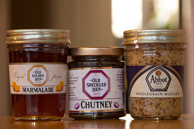 Marmalade, Chutney & Mustard - made with Greene King beers