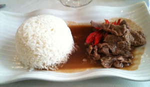 Beef with Sweet Chilli